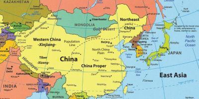 Hong Kong Arată Hartă Hărți Hong Kong China